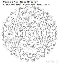 Crochet Herzen.  safetki Häkeln Schema (5) (624x668, 279Kb)