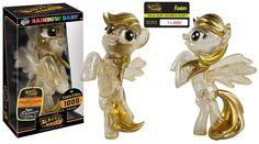 Hikari Sofubi: My Little Pony: GOLD DUST RAINBOW DASH