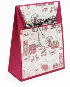 Silhouette Online Store - View Design #42016: 3-d samantha walker tuck bag