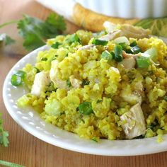 Curried Cauliflower Rice takes less than 15 minutes to prepare and is ready in…