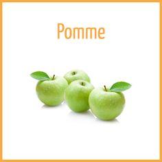 Pomme - Arômes naturels - Fiole de 10ml - PG/80 VG/20