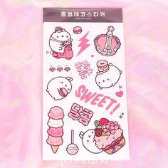 Molang Decoration Sticker - Pixie ♥