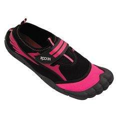 Rockin Footwear Womens Aqua Foot Women's Water Shoess 10 Pink -- Check out this great product.(This is an Amazon affiliate link and I receive a commission for the sales)