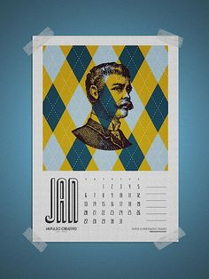 Free 2013 Calendar by Impulso Creativo | Abduzeedo Design Inspiration & Tutorials