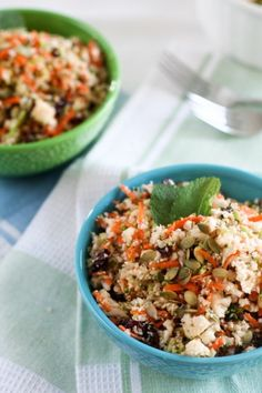 Raw Cauliflower Salad