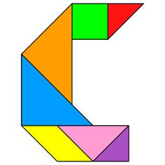 tangram letter c tangram solution 111 providing teachers and pupils with tangram puzzle