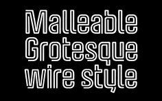 Carlos Pagan / Malleable Grotesque