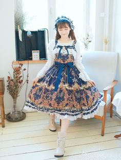 Preview from Jade Lolita Studio - Peacefulworld