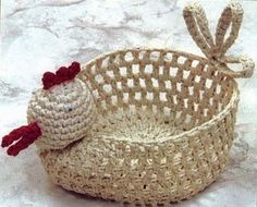 I need to find a pattern to make this! Crochet Home, Knit Crochet, Crochet Afghans, Crochet Chart, Crochet Patterns, Knit Basket, Crochet Baskets, Some Ideas, Blog