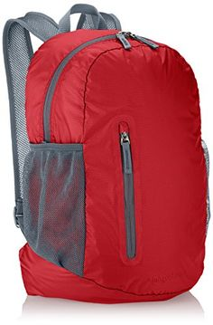AmazonBasics Ultralight Packable Day Pack Red 35L >>> Find out more about the great product at the image link.