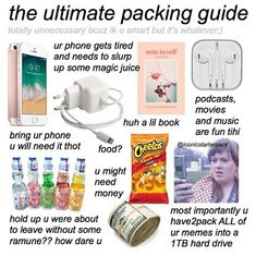 Travel Packing Checklist, Road Trip Packing List, Road Trip Hacks, Travelling Tips, Packing Lists, Traveling, Travel Bag Essentials, Road Trip Essentials, Teen Trends