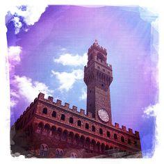 il palazzo è vecchio - piazza signoria - Firenze