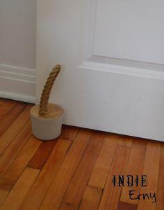DIY – Le cale-porte en ciment – Indieerny