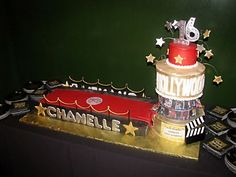 hollywood ~ cake ~ inspiration