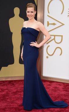 Amy Adams is beautiful in blue in this Gucci stunner!