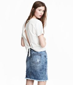 Denim Skirt | Denim blue | Women | H&M US