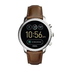 online shopping for Fossil Gen 3 Smartwatch - Q Explorist Luggage Leather from top store. See new offer for Fossil Gen 3 Smartwatch - Q Explorist Luggage Leather Fossil Watches For Men, Vintage Watches For Men, Cool Watches, Guy Watches, Sport Watches, Ladies Watches, Cheap Watches, Stylish Watches, Casual Watches