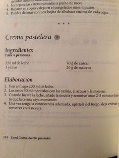 Crema pastelera | https://lomejordelaweb.es/