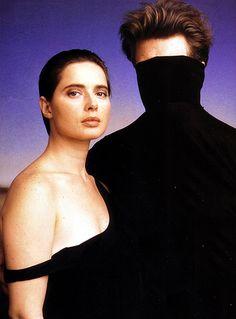 David Lynch e Isabella Rosellini