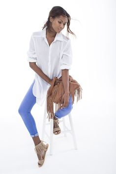 At Miladys, we think women are fabulous. We think you deserve to look your best – and feel great while doing it. We walk the line between fashion and comfort. Ss15 Trends, Long Length Shirts, Ss 15, Spring Summer 2015, Shoe Shop, Art Direction, Fashion Online, Stylists, Fashion Accessories
