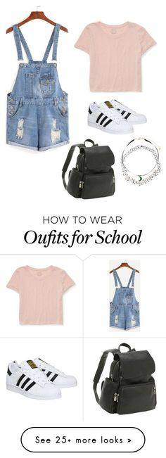 """""""California School Day."""" by jordanhanlon on Polyvore featuring Aéropostale, adidas, Le Donne and Monsoon"""