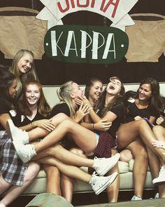 "Sigma Kappa's ""Friends"" themed Skit Day"