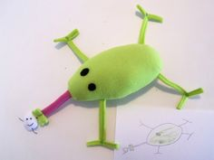 Your child's drawing made into a Cuddly friend.