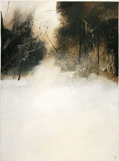B-sides — Tony Foster(British) here, here and here Landscape Artwork, Abstract Landscape Painting, Watercolor Landscape, Watercolor Paintings, Abstract Art, Watercolours, Painting Snow, Winter Painting, Pinterest Arte
