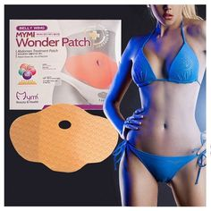 15 Patches Mymi Slimming Sticker Waist Belly Weight Loss Burning Patch