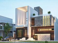 Principles of Contemporary Architecture Modern Bungalow Exterior, Modern Exterior House Designs, Modern House Design, Exterior Design, Architect Design House, Duplex House Design, Hospital Architecture, Modern Architecture House, Entrance Design