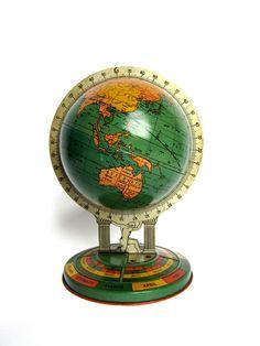 vintage globes