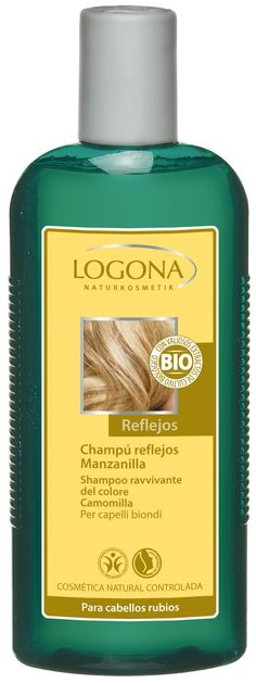 Un champú magnífico para proporcionar reflejos a los cabellos rubios de un modo natural - Ecobelleza, cosmética ecológica certificada