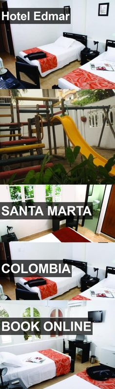Hotel Hotel Edmar in Santa Marta, Colombia. For more information, photos, reviews and best prices please follow the link. #Colombia #SantaMarta #HotelEdmar #hotel #travel #vacation