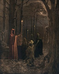 """Illustration by Harry O. Morris for the H. Lovecraft story, """"The Dreams in the Witch House"""" OP credit in comments Dark Fantasy Art, Fantasy Kunst, Dark Art, Arte Horror, Horror Art, Lovecraftian Horror, Satanic Art, Arte Obscura, Occult Art"""