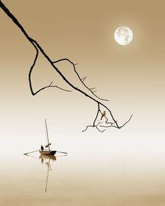 By Fan Ho. It's like a haiku, so simple and so beautiful in it's form.