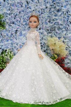 NEW dress gauze for Ellowyn  Superdoll  Sybarite Tyler,Deva BY T.D.