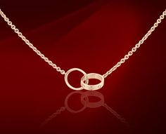 WANT - Cartier love necklace in WHITE GOLD