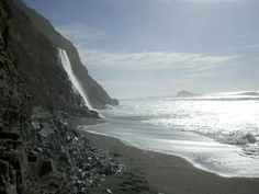 The Coastal trail to Alamere Falls A scenic hike in either direction with the creme' de la creme' Alamere Falls as your reward