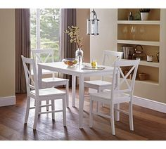 Buy HOME Jessie Dining Table And 4 Solid Wood Chairs