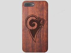 Los Angeles Rams Wooden iPhone 7 Plus Case
