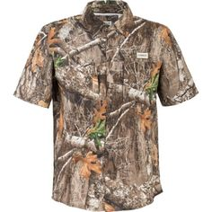 02498481cd73d Magellan Outdoors Men's Falcon Bay Camo Shirt in Realtree EDGE Camo Shirts,  Outdoor Apparel,