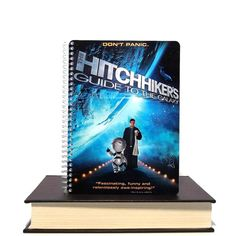 Upcycled Notebook From Hitchhiker's Guide to the by Momsmedia, $8.00