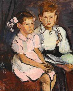 Alexandru Ciucurencu - Prieteni Post Impressionism, Impressionist, Figure Painting, Painting & Drawing, Call Art, The Kingdom Of God, Kids Reading, Monet, Art For Kids