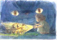 The Best Hiyao Miyazaki short about Mei and Catbus based on My Neighbor Totoro Studio Ghibli Art, Studio Ghibli Movies, Anime Manga, Anime Art, Japon Tokyo, Chihiro Y Haku, My Neighbor Totoro, Animation, Hayao Miyazaki