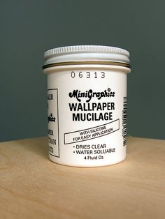 Wallpaper Mucilage - Otterine likes this better than Yes Paste