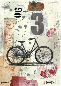 Print Art canvas gift Poster Collage Abstract Mixed Media Art Painting…