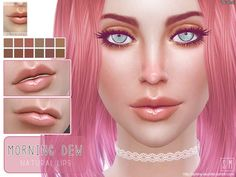 Sims 4 CC's - The Best: Lipgloss by Screaming Mustard