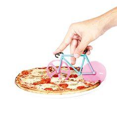 Nóż do pizzy dla miłośników rowerów ;)