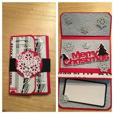 Single gift card holder