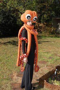 Krake Kostüm selber machen   Kostüm Idee zu Karneval, Halloween & Fasching